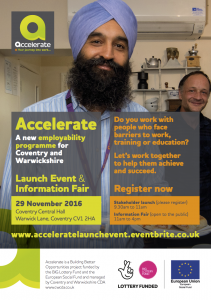 Accelerate Launch Event